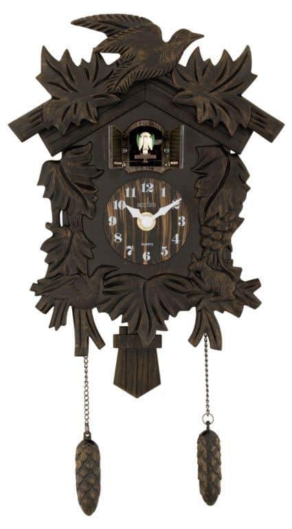 Acctim Hamburg Cuckoo Clock - Antique Bronze